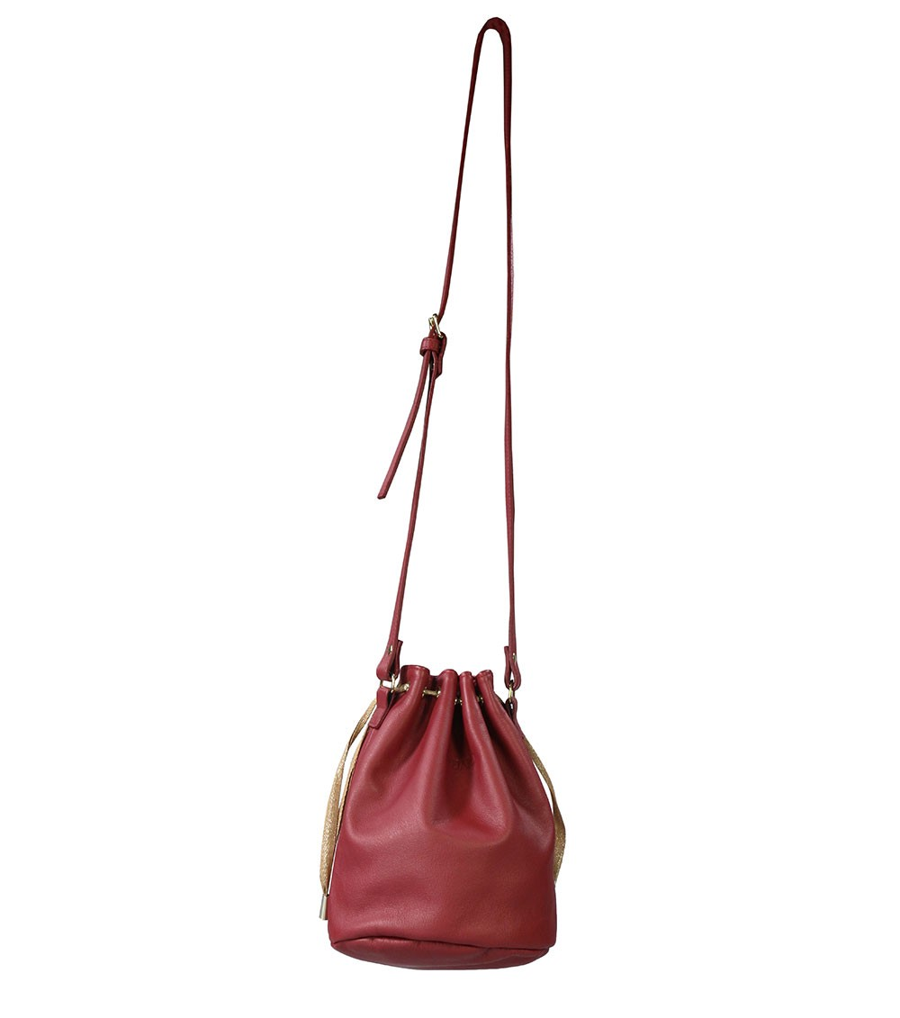 8d4bb36182 sac-boule-cuir-rouge - Souleiado Le Musée